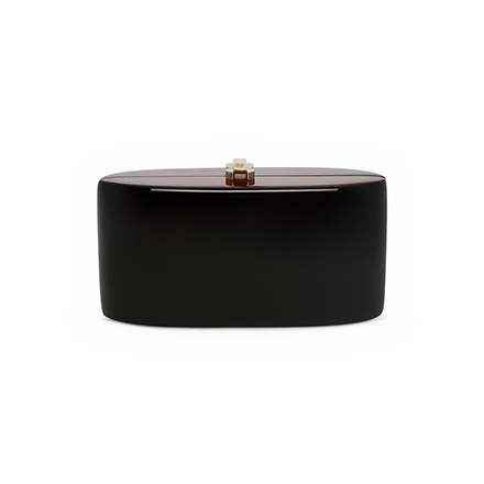 Candy Clutch - midnight black