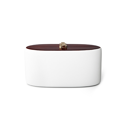 Candy Clutch - brilliant white