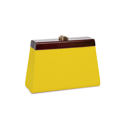 Cindy Clutch - yellow