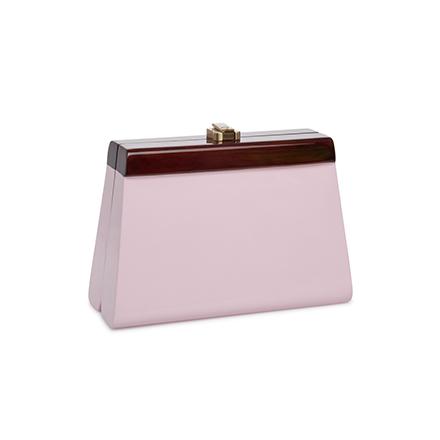 Cindy Clutch - parfait pink
