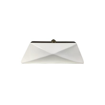 Diaz Clutch - brilliant white