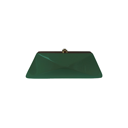 Diaz Clutch - dark green