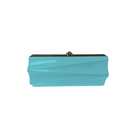 Milano Clutch - turquoise blue