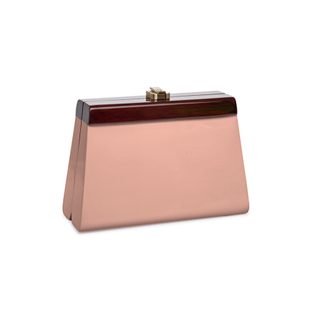 Cindy Clutch - salmon