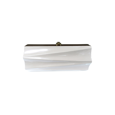 Milano Clutch - brilliant white