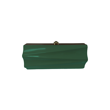 Milano Clutch - dark green