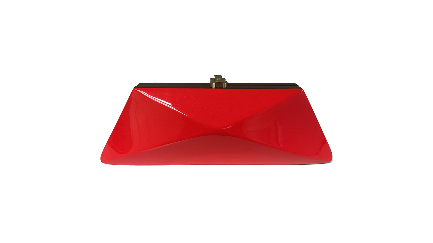 Detail_Diaz Clutch_Red_front