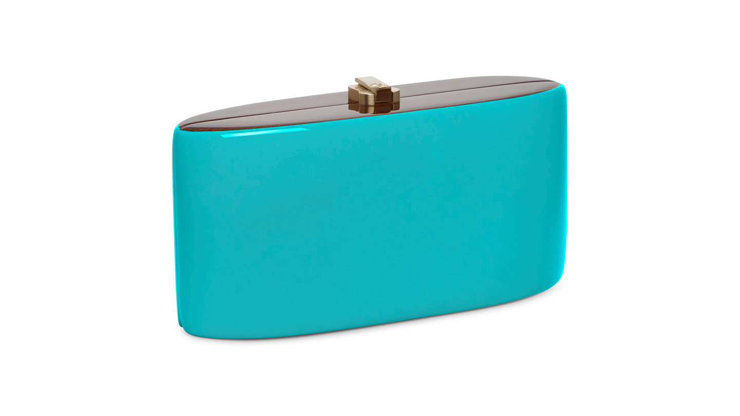 Detail_P)Candy Clutch_TurquoiseBlue_right