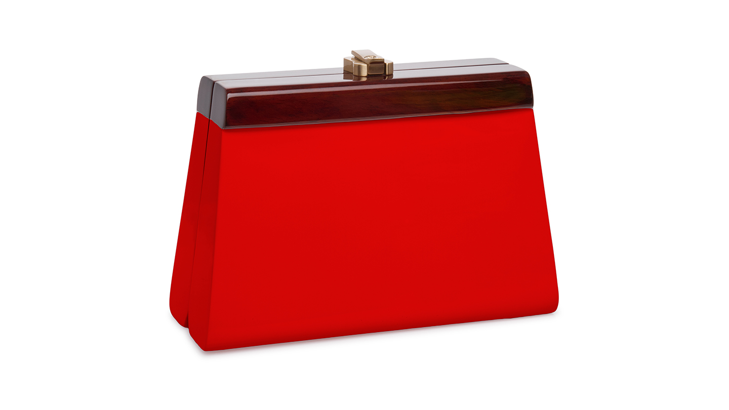 Detail_P)Cindy Clutch_Red_right