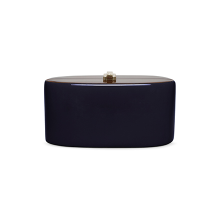 Candy Clutch - peacoat blue