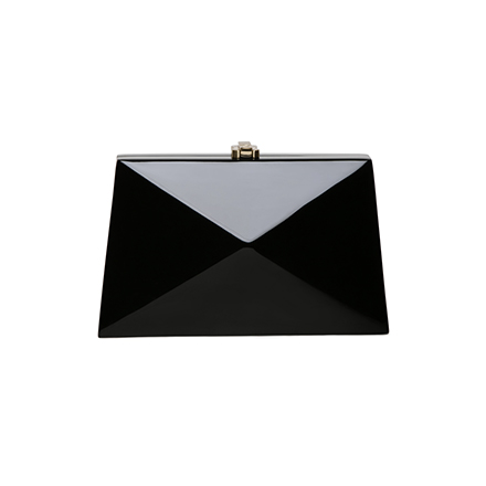 Baby Diaz Clutch - midnight black
