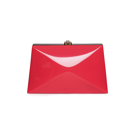 Baby Diaz Clutch - red