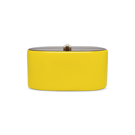 Candy Clutch - yellow