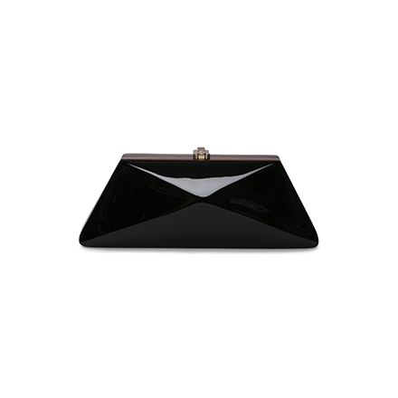Diaz Clutch - midnight black