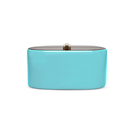 Candy Clutch - turquoise blue