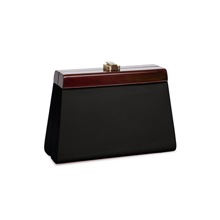 Cindy Clutch - midnight black