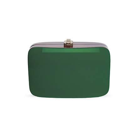 Rio Clutch - dark green