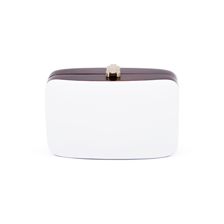 Rio Clutch - brilliant white
