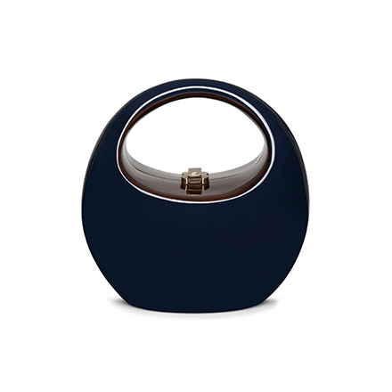 Coco Handbag - blue depth