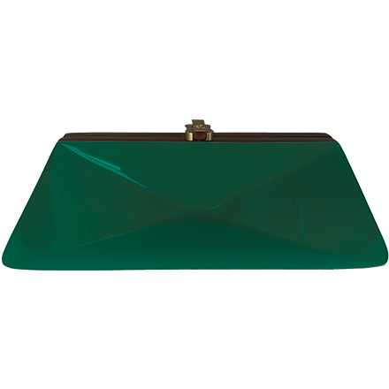 DiazClutch dark green